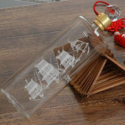 帆船工艺酒瓶|直管帆船酒瓶|河北玻璃白酒瓶定制厂家