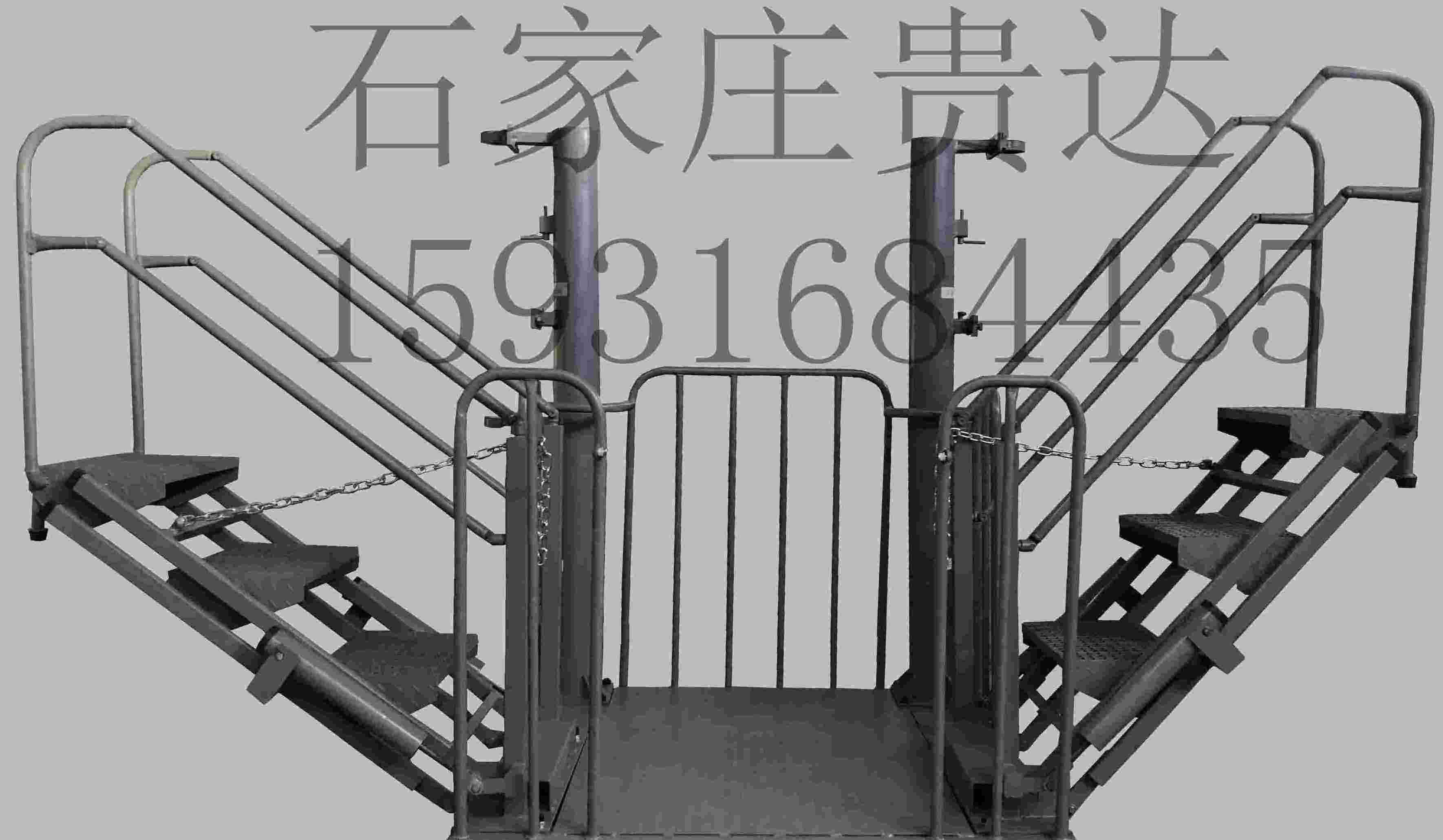 鹤管平台、栈台、栈桥
