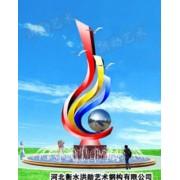 哈尔滨白钢雕塑@尚志白钢景观艺术造型雕塑生产厂家