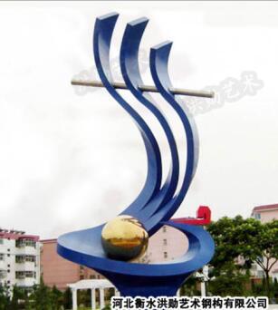 哈尔滨白钢雕塑@双城白钢景观艺术造型雕塑生产厂家