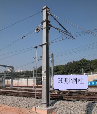 铁路专用BGZ5-10等径圆钢柱矩形格构钢柱 厂家直销