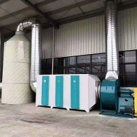 无锡专业设计废气净化除臭设备UV光解定制方案