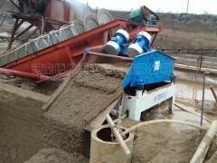 沙场脱水筛厂家 矿产脱水筛型号 博信重工可根据需求定制