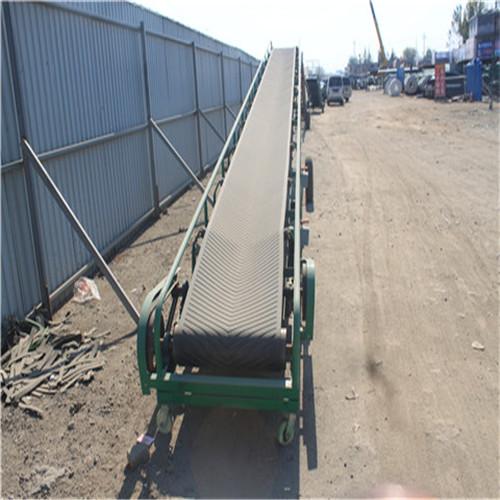 电动升降输送机 大倾角带式输送机 皮带输送机厂家