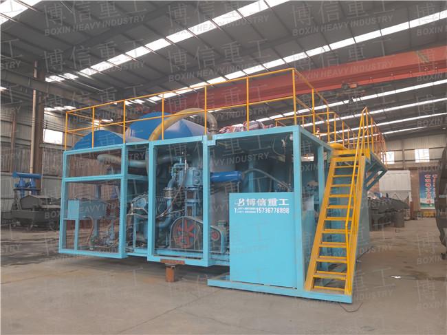 供应博信PLC真空污水处理机污水一体化设备性能特点