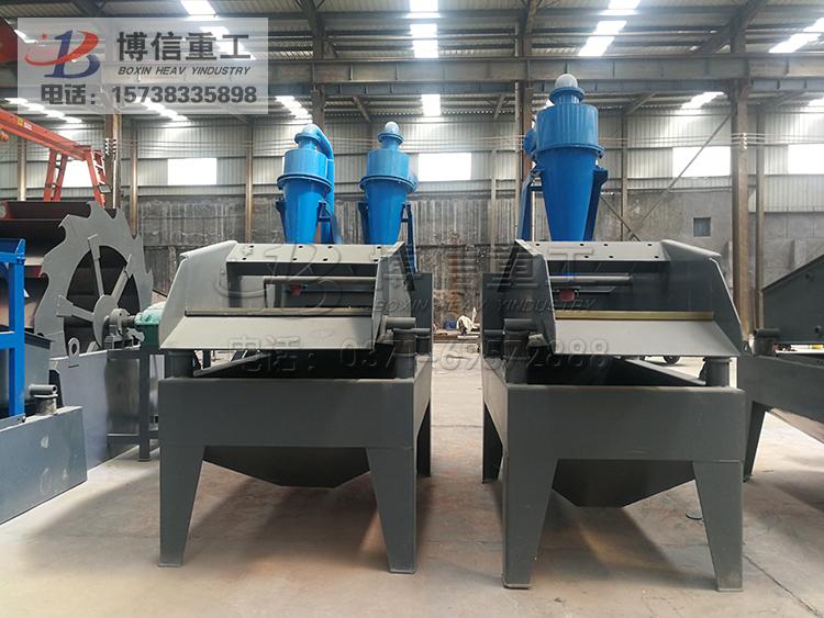 时产100吨左右的细砂回收机设备价格多少