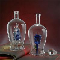 河北河间源头玻璃工艺酒瓶厂家直供各种玻璃瓶