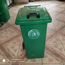 定制 垃圾桶 120升铁垃圾桶 户外垃圾桶