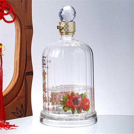 玻璃工艺酒瓶源头工厂河北白酒瓶生产厂家