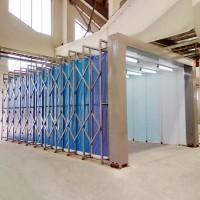 轨道式伸缩喷漆房 10米15米20米等厂家定制价格