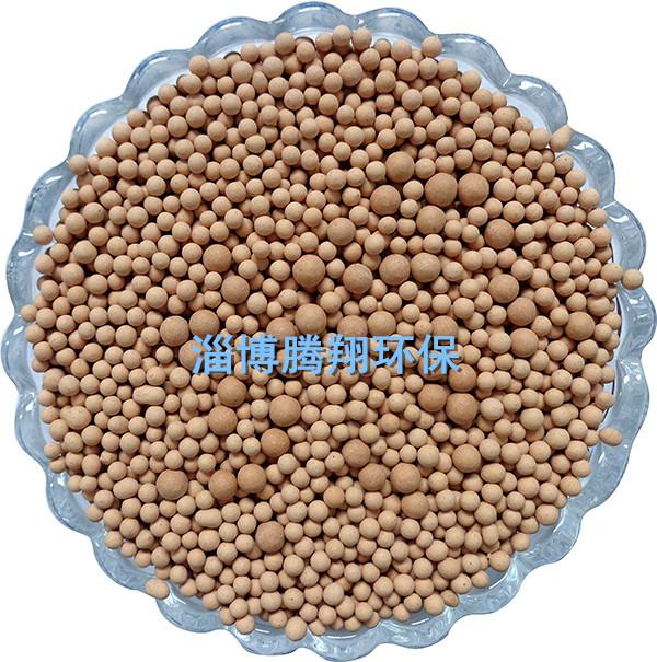 麦饭石填充球/腾翔红色白色矿化填料/汽车坐垫填充用黄土颗粒