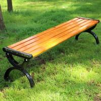 园林长条凳 休息长凳 防腐木平凳 批发供应