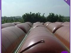 养殖场猪粪处理软体沼气袋、可定做不同规格和形态