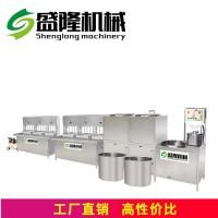 唐山多功能豆腐机生产视频盛隆大型全自动不锈钢豆腐机