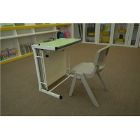 供应优质培训桌一对一辅导桌贝德思科课桌椅定做厂家