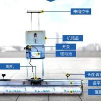 供应货真价实锂电自动振平去脚印一体化盖膜机