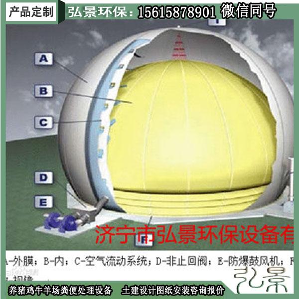 沼气储气柜与双膜气柜区别、厂家详细介绍