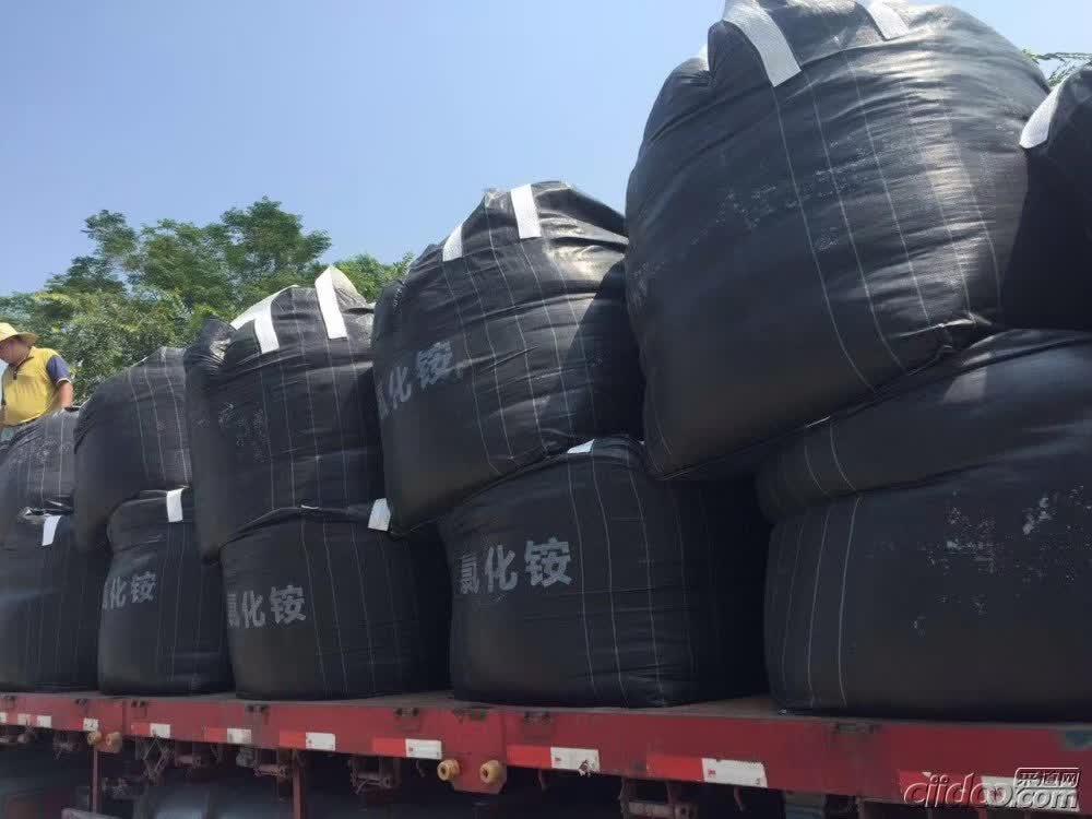 氯化铵 干铵 吨袋湿铵  氮肥 广东出 副产