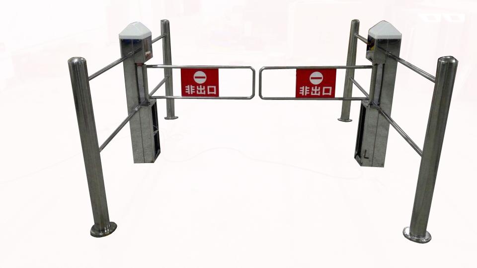 超市自动感应门红外雷达单向门