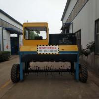 鸡粪如何设备-鸡粪翻堆机及型号价格及生产有机肥的方法