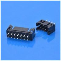 九木电子供应黑色JST PHD2.0间距10P双排直针连接器