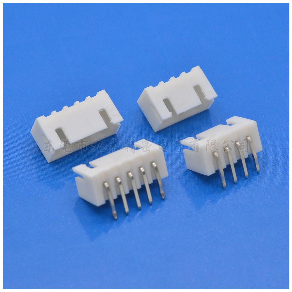九木厂家供应2.5mm条形90度平弯插板连接器