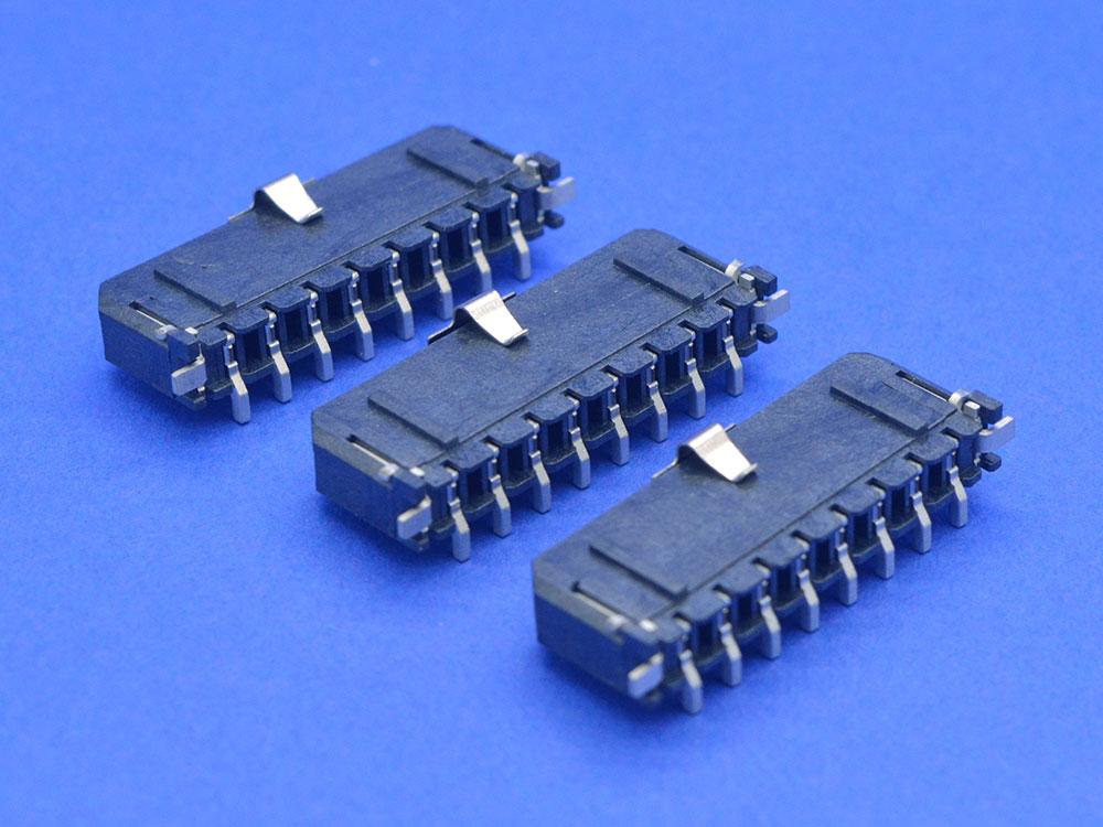 MOLEX3.0单排立贴针座 SMT连接器