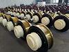 起重机锻打淬火调质车轮组主动轮从动轮