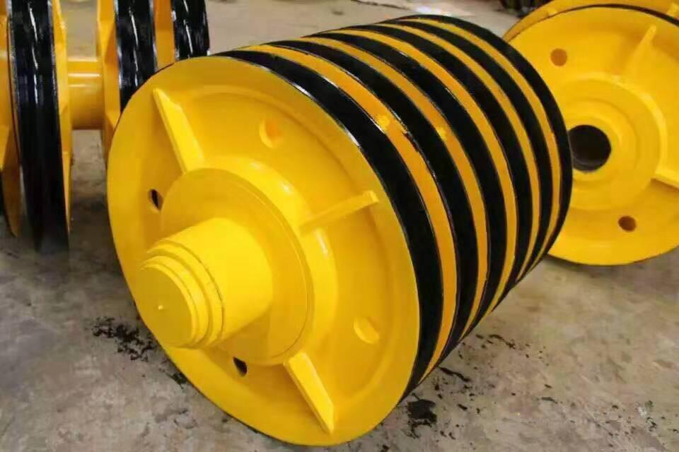 电动葫芦滑轮组钢丝绳导向轮