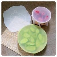 硅胶保鲜膜盖碗盖密封家用食品级硅胶保鲜盖拉伸膜可重复使用