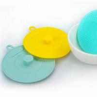 硅胶洗碗刷百洁布洗碗布厨房 洗碗神器刷碗海绵擦抹布不沾油