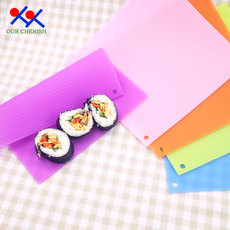 寿司帘子 不粘 家用寿司卷帘硅胶寿司卷帘硅胶做寿司的工具饭团