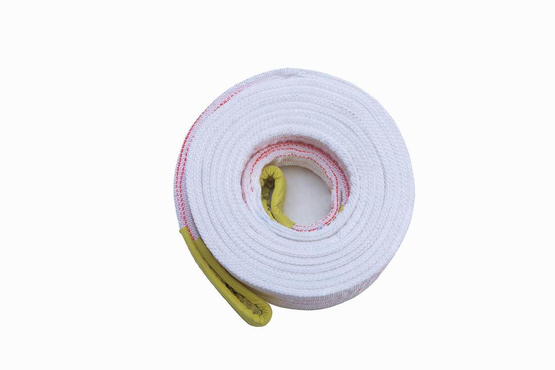 白色起重吊带/扁平吊装带/ 3吨起重吊装带
