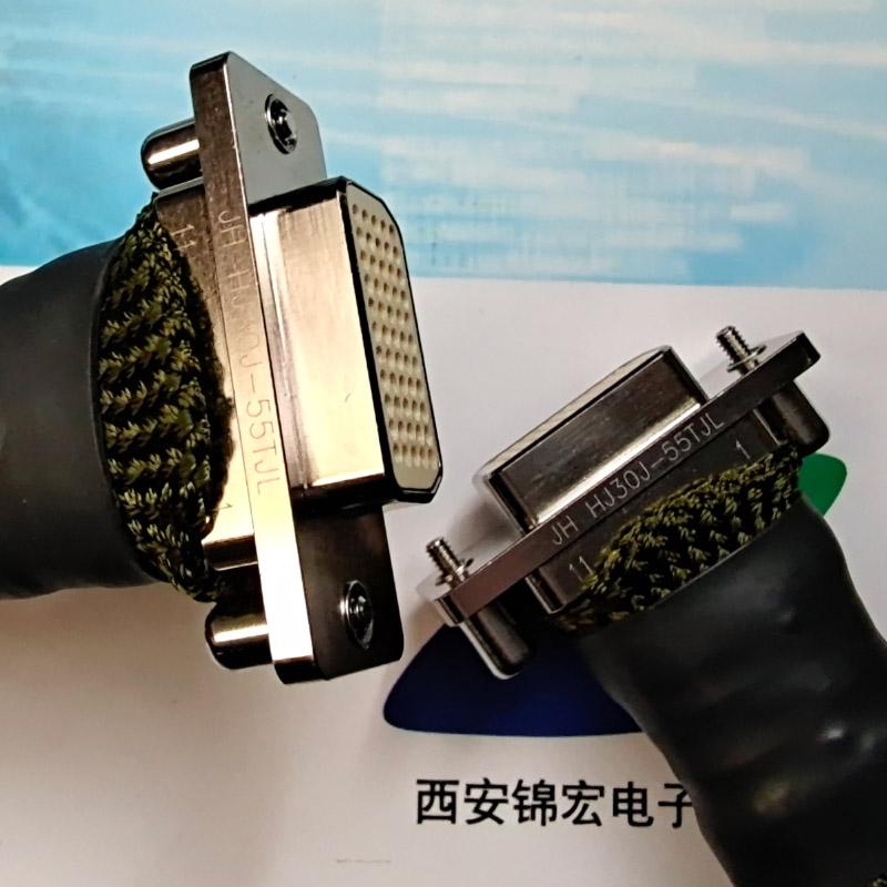灞桥有销售HJ30J-24TJL锦宏牌高速矩形接插件