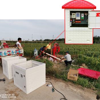 农田井电双控装置机井灌溉智能井房