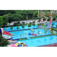 户外游乐园的游乐设施