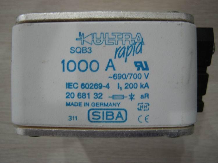 德国进口SIBA熔断器2000413.355