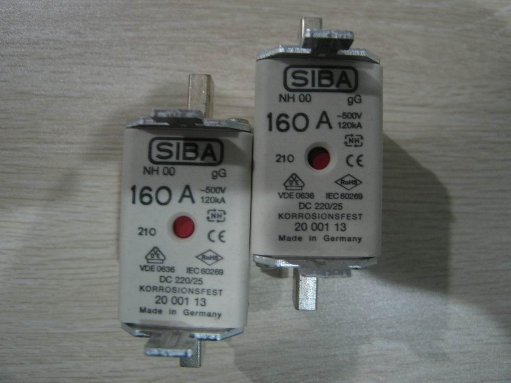 德国进口SIBA熔断器 3001213.63