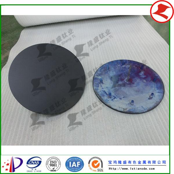 钛阳极次氯酸纳水处理