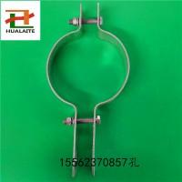 厂家现货供应光缆金具 双长尾抱箍 热镀锌产品 光缆电力金具