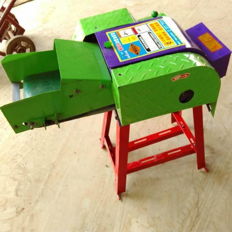 小型输送带铡草机 全自动多功能秸秆铡草机畜牧养殖干湿用打草机