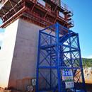 三米安全梯笼厂家 供应桥梁施工梯笼 组合式梯笼安装