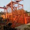 河北安全梯笼生产厂家 供应四米安全梯笼 墩柱梯笼设计