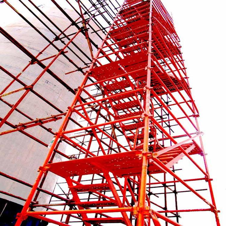 安全爬梯 60管安全爬梯 现货供应香蕉式爬梯 可定制