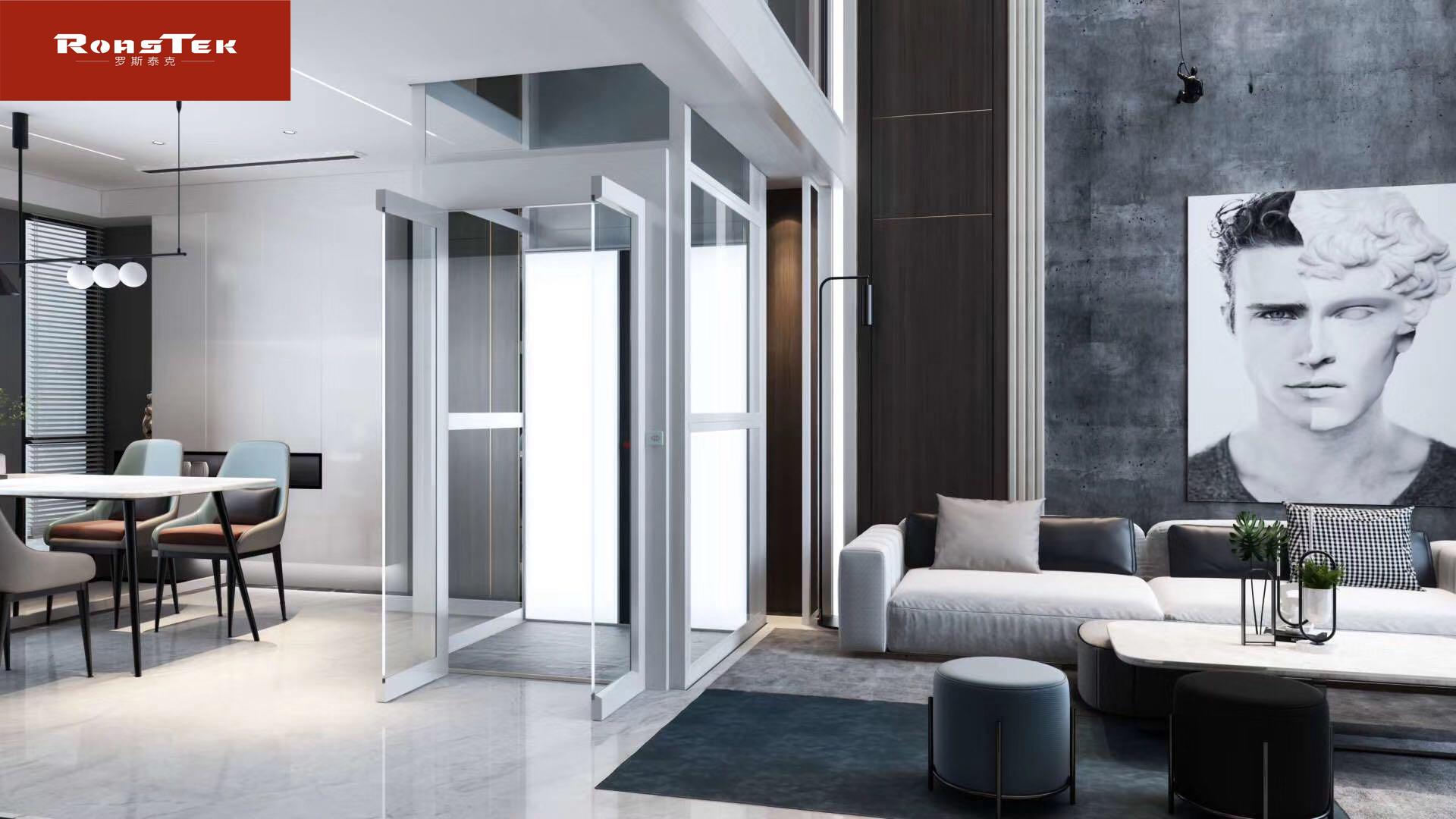 进口电梯价格高性价比  德国Roastek罗斯泰克别墅电梯