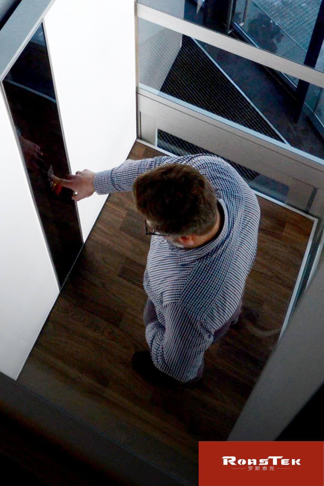 小型家用别墅电梯  无底坑螺杆驱动  满足全景观光