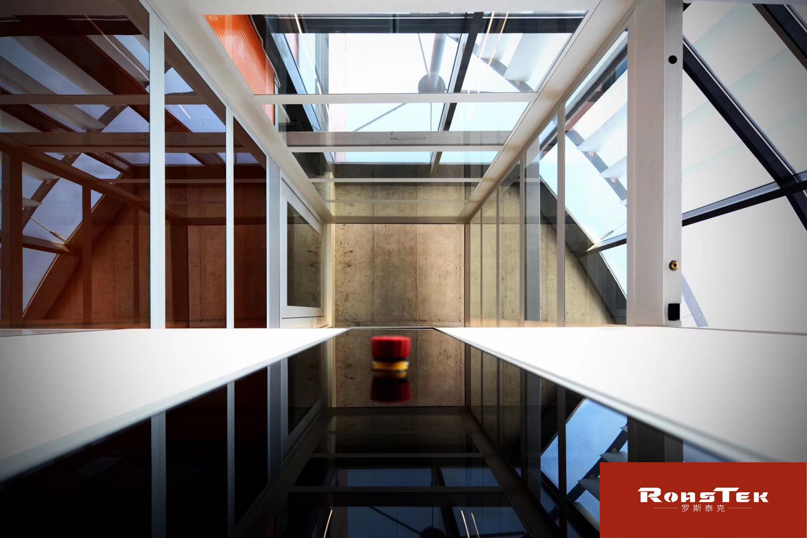 2-6层家用别墅小电梯,无底坑四面透明,可定制尺寸