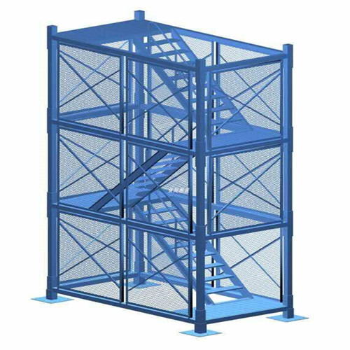 供应上海 重庆 石家庄三米安全梯笼 全封闭梯笼 设计安装