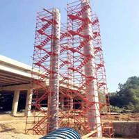 供应邯郸 邢台 廊坊60管安全爬梯 组合箱式爬梯组装
