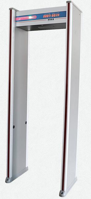 安检门检测门金属通道式6区酒吧KTV学校中性长条数码探测门